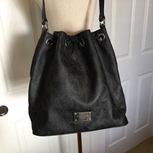 Michael Kors Coated Canvas Cinch Tote